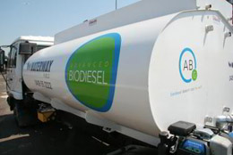 Sydney biodiesel supply tanker